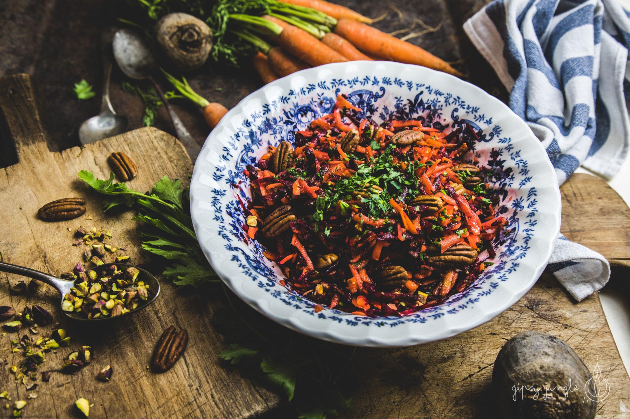 ricetta insalata di barbabietole e carote