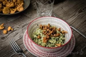 ricetta risotto con gallinacci