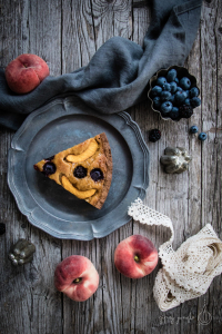 food styling crostata